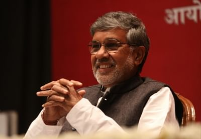 Noble laureate Kailash Satyarthi. (File Photo: IANS)