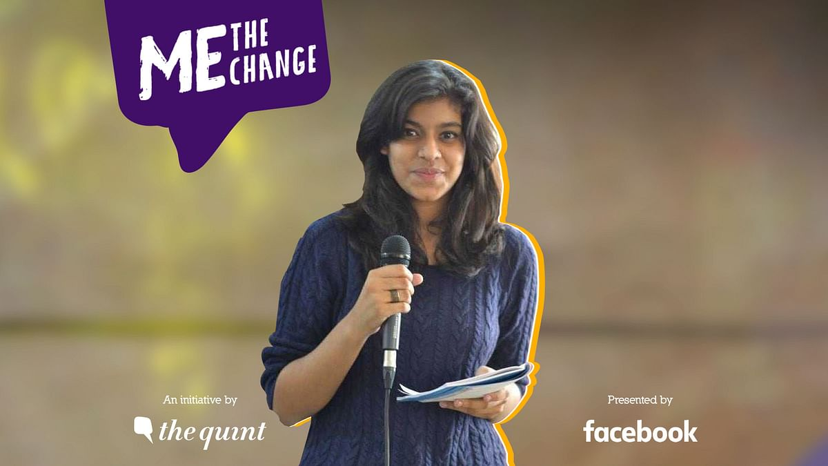 Me, The Change: Niyati Wants Sex Education Classes in Schools