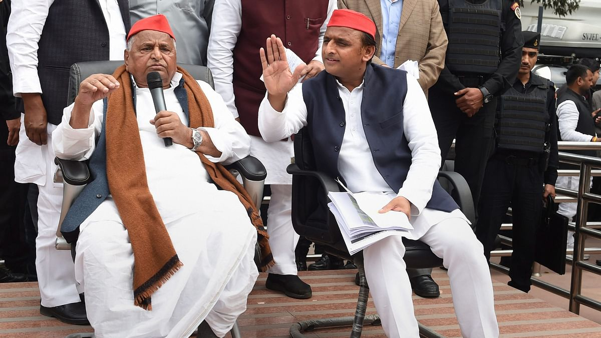 'Party Destroyed by People Within': Mulayam Slams SP-BSP Alliance