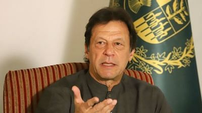 File picture of Imran Khan.