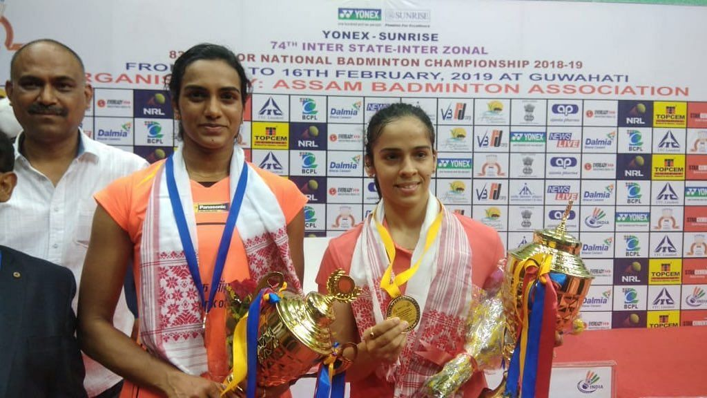 The three-time former champion Saina registered a 21-18 21-15 win against Sindhu on Saturday.