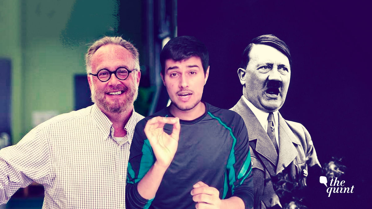 YouTuber Dhruv Rathee was temporarily banned from Facebook for posting screenshots of a Britannica article talking about the life and rise of Adolf Hitler.