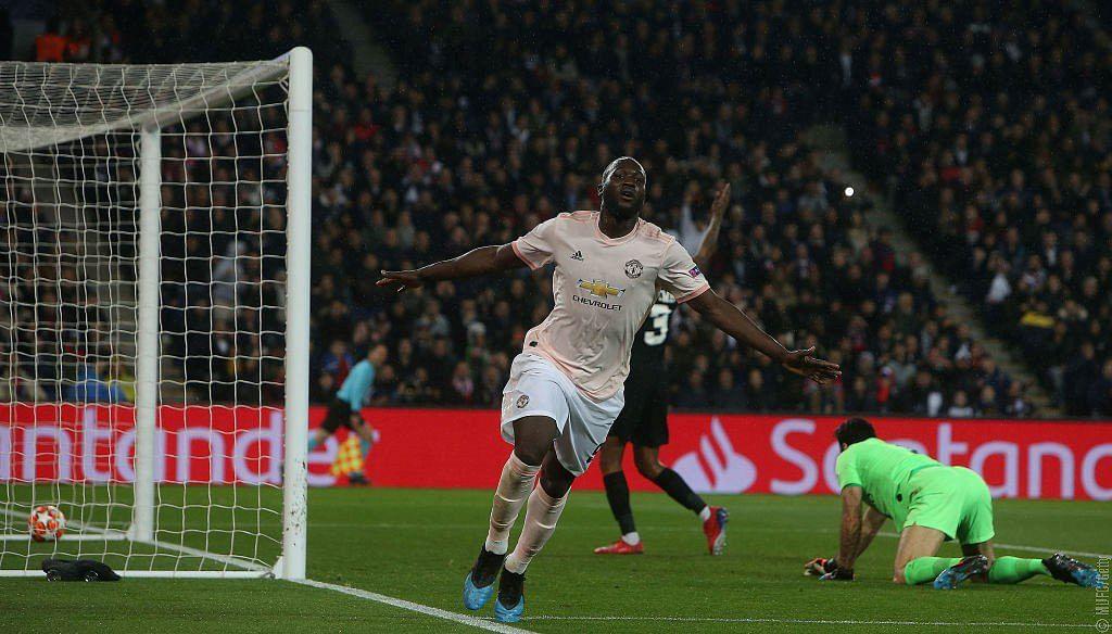 Romelu Lukaku scored two goals in Manchester United's stunning turnaround win over Paris St-Germain – his third brace in as many games.