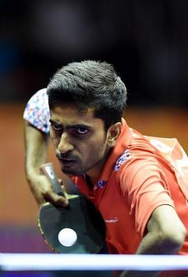 Indian table tennis player Sathiyan Gnanasekaran. (File Photo: IANS)
