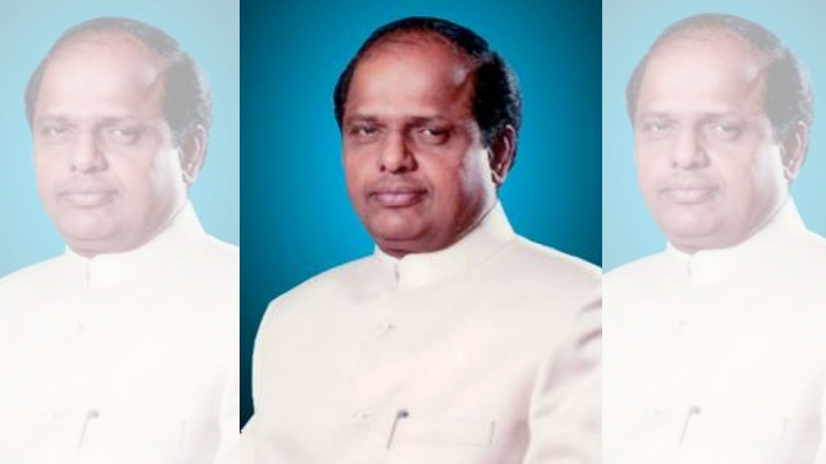 Former Union minister V Dhananjay Kumar