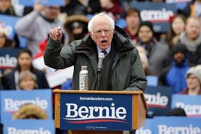 Bernie Sanders. (Xinhua/Li Muzi/IANS)