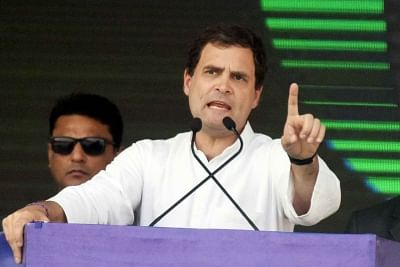 Rahul backs Dalit-tribal shutdown over forest rights, reservation