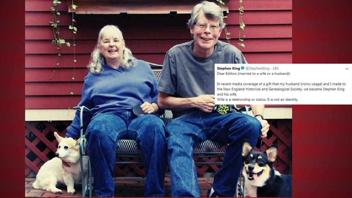 Stephen & Tabitha King Slam Media  For Sexist Headlines