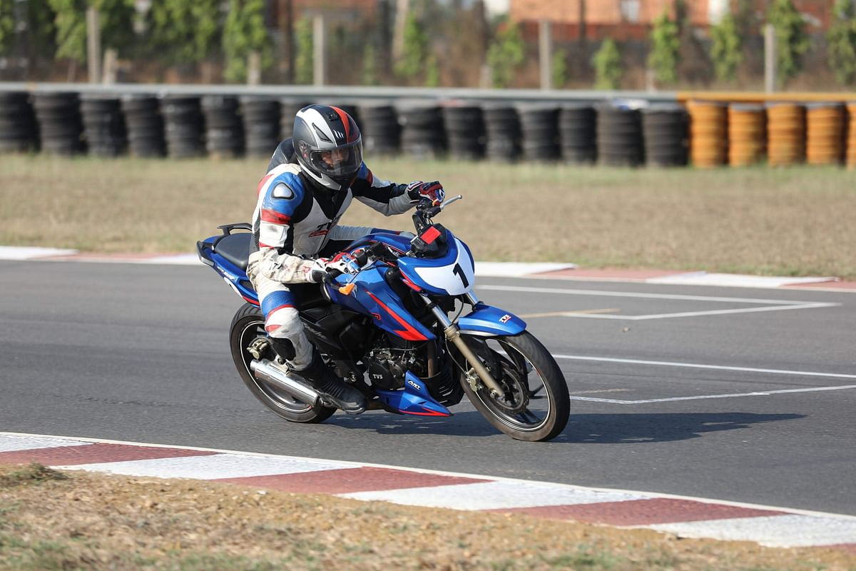 The Madras Motor Race Track is 3.7 kilometres long.