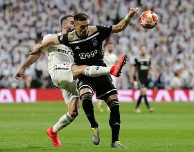 MADRID, March 6, 2019 (Xinhua) -- Real Madrid