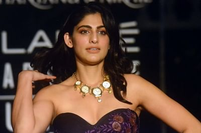 Actress Kubbra Sait at Lakme Fashion Week (LFW) Summer/Resort 2019 in Mumbai, on Feb 3, 2019. (Photo: IANS)