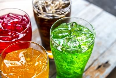 Sugary drinks.