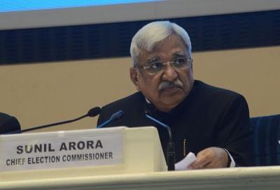 Chief Election Commissioner Sunil Arora. (Photo: IANS)