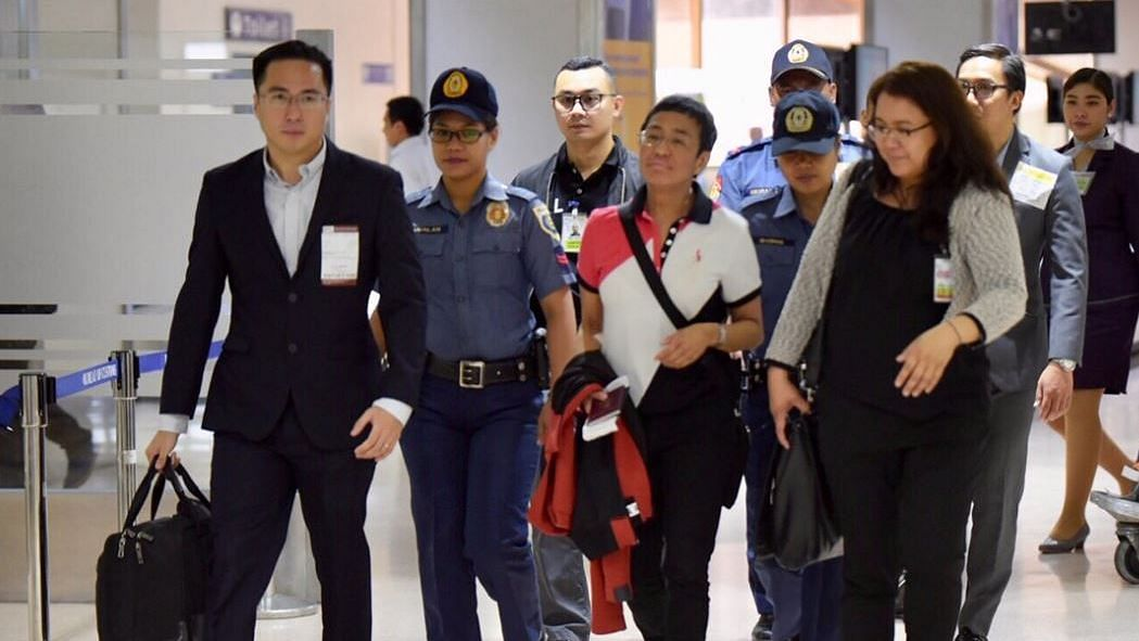 Filipino Scribe Maria Ressa Released After Held on Anti-Dummy Law