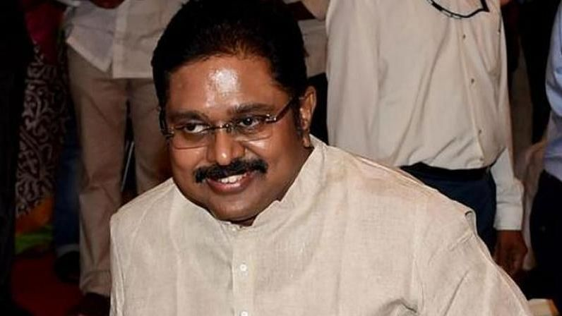 File image of TTV Dhinakaran.