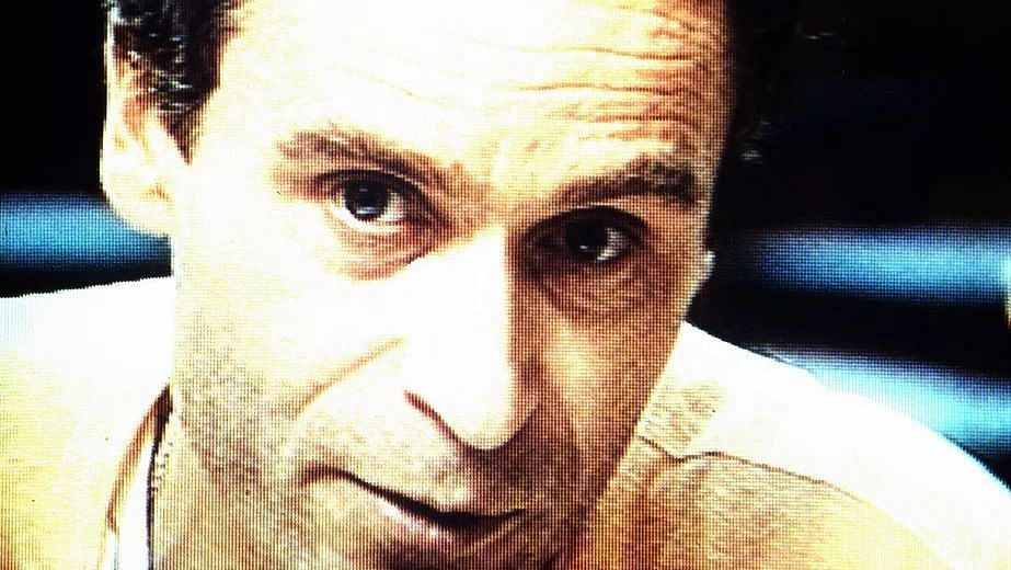 Ted Bundy, a day before his execution in January 1989.