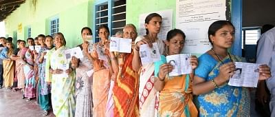 Women are likely to play a decisive role in the upcoming general elections as their voting participation is likely to be higher than that of men in the 2019 polls, a Centrum report said on Monday. (Photo: IANS)