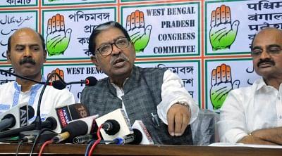 Congress leader Somen Mitra. (Photo: IANS)