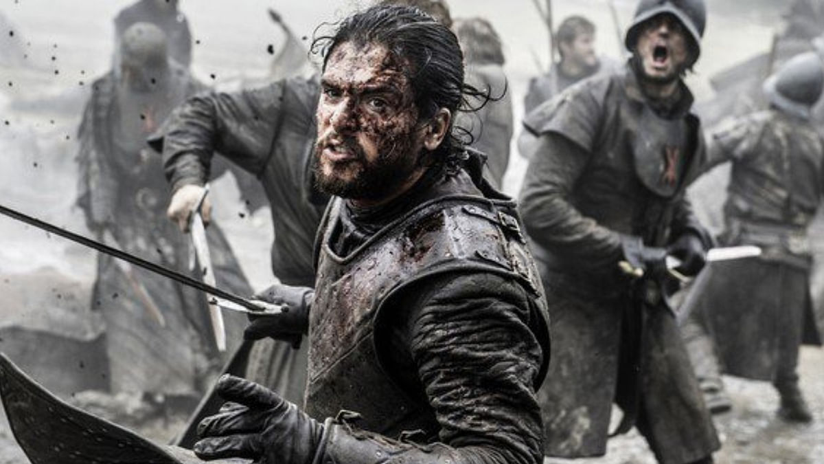 Kit Harington as Jon Snow in a still from <i>Game of Thrones</i>.