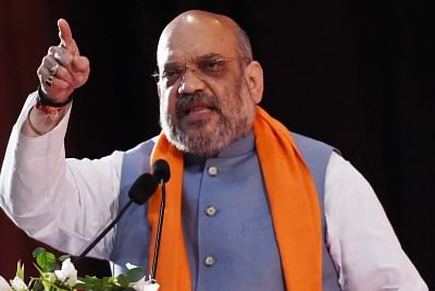 Amit Shah. (File Photo: IANS)