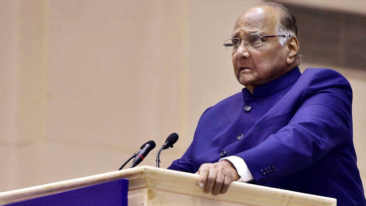 NCP Chief Sharad Pawar Won't Contest 2019 Lok Sabha Elections