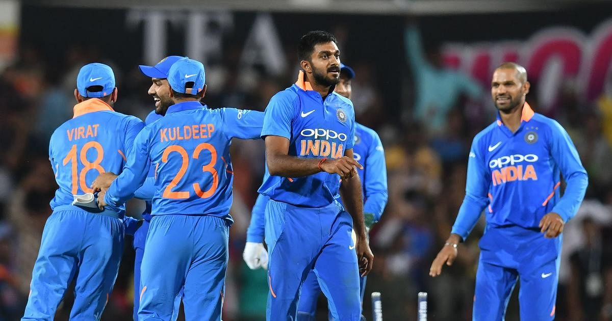 Shankar picked up the last two Australian wickets in the final over as the visitors needed 11 runs off the last six balls.