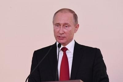 Russian President Vladimir Putin. (File Photo: IANS)
