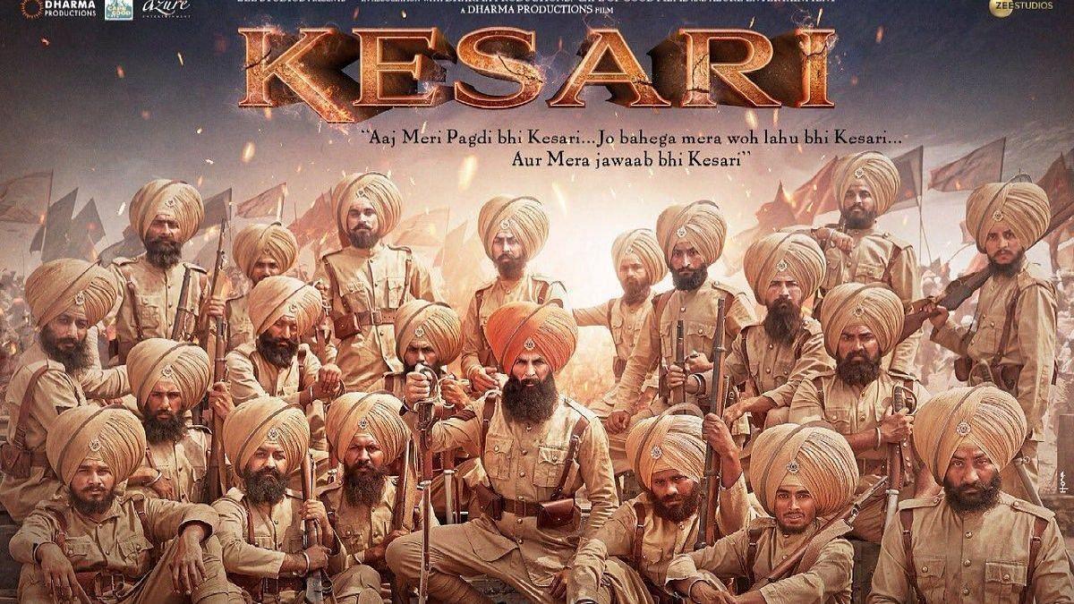 <i>Kesari</i> stars Akshay Kumar in the lead role.