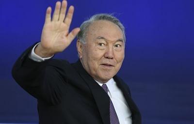 Kazakh President Nursultan Nazarbayev. (Xinhua/Ye Pingfan/IANS)