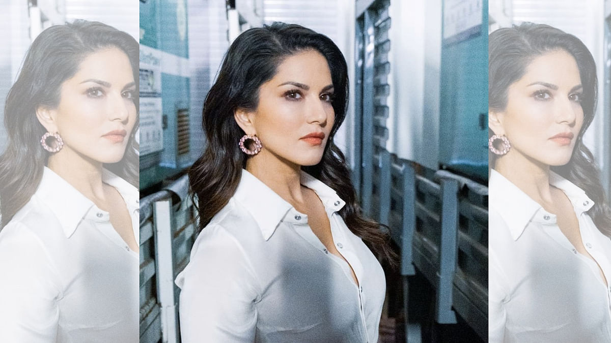 Actor and model, Sunny Leone.