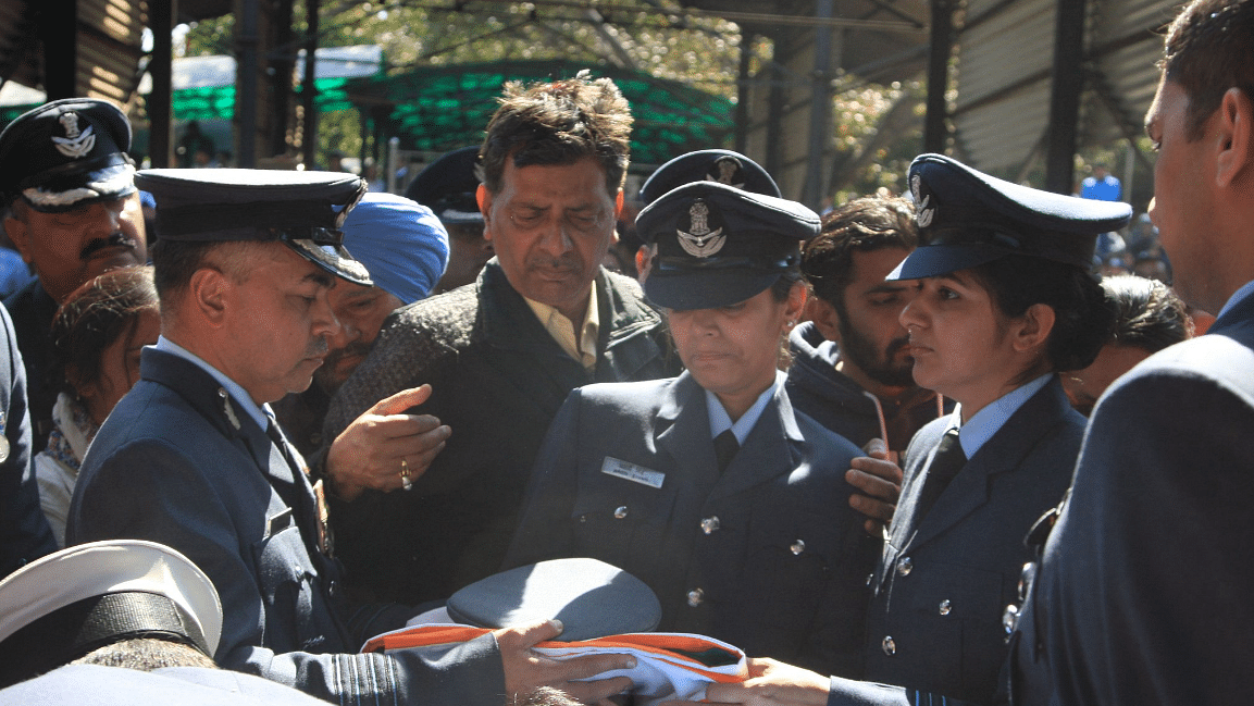Fellow Officer & Wife Pays Tribute to IAF Pilot Killed in Budgam