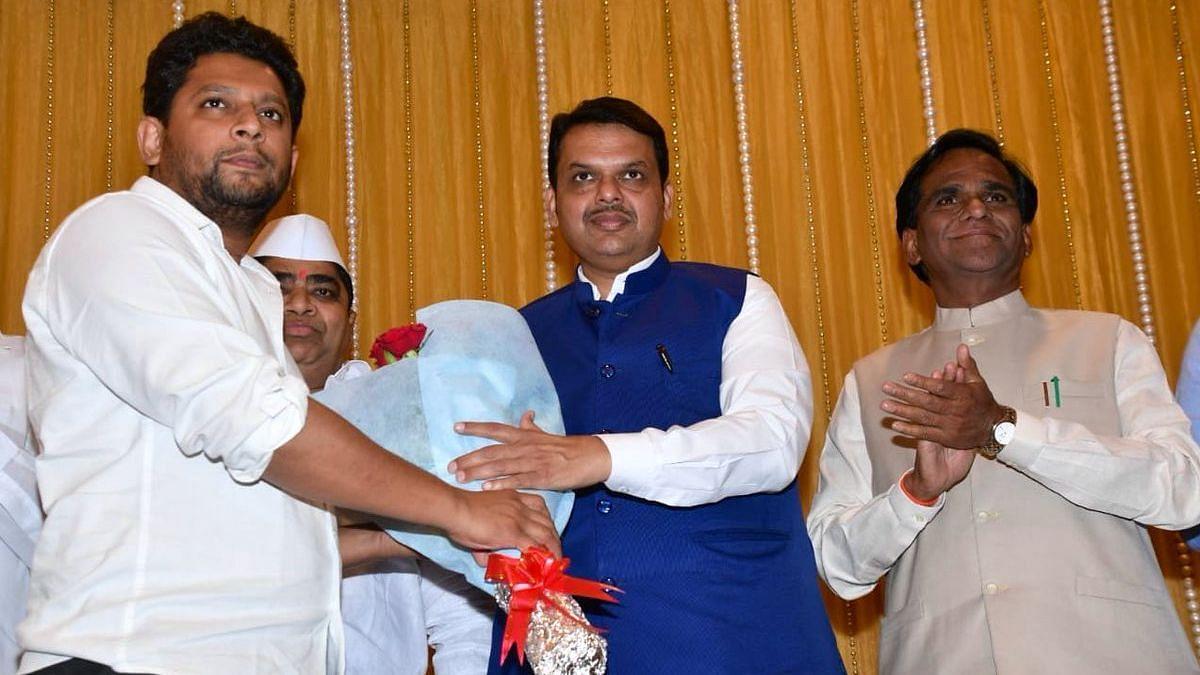 Maharashtra Oppn Leader's Son Sujay Vikhe Patil Joins BJP