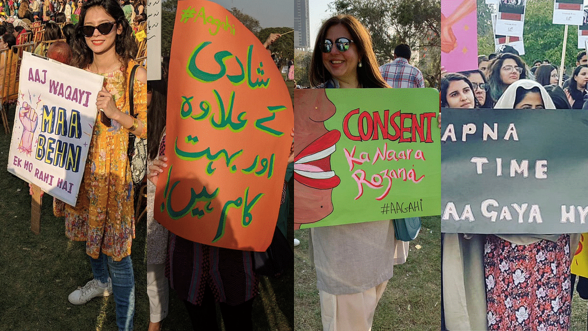 Check Out These Badass Posters From Pak's 'Aurat March 2019'