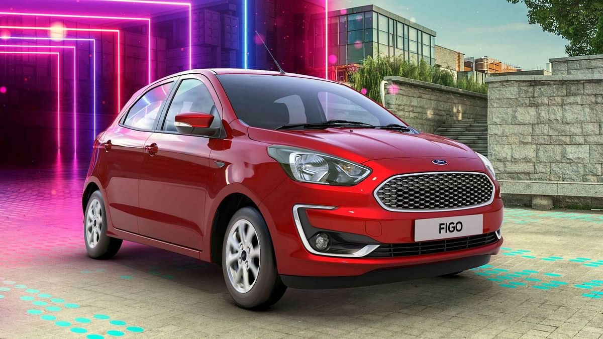 The 2019 Ford Figo gets the updated Dragon series petrol engine.