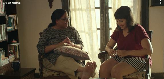 Tanvi Azmi's role was short but impactful.