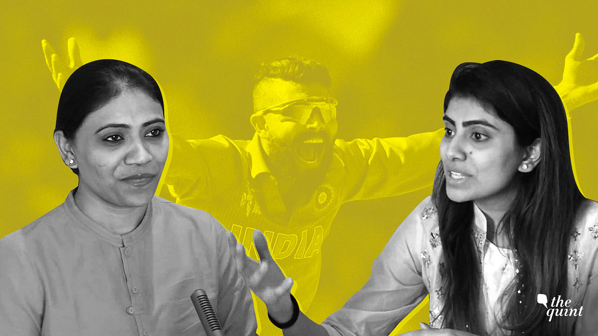 Ravindra Jadeja's wife Rivaba Jadeja joined the BJP while his sister joined the National Women's Party in February earlier this year.