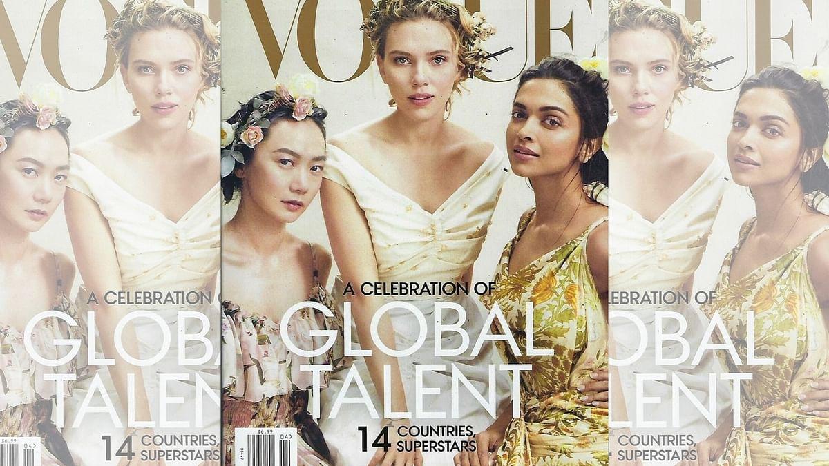 Deepika on Vogue Cover With 'Avengers' Star Scarlett Johansson