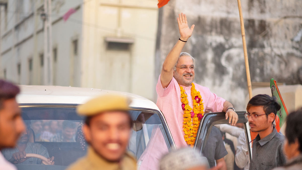 A still from <i>Modi - Journey of a Common Man</i>, an Eros Now web series on Narendra Modi.