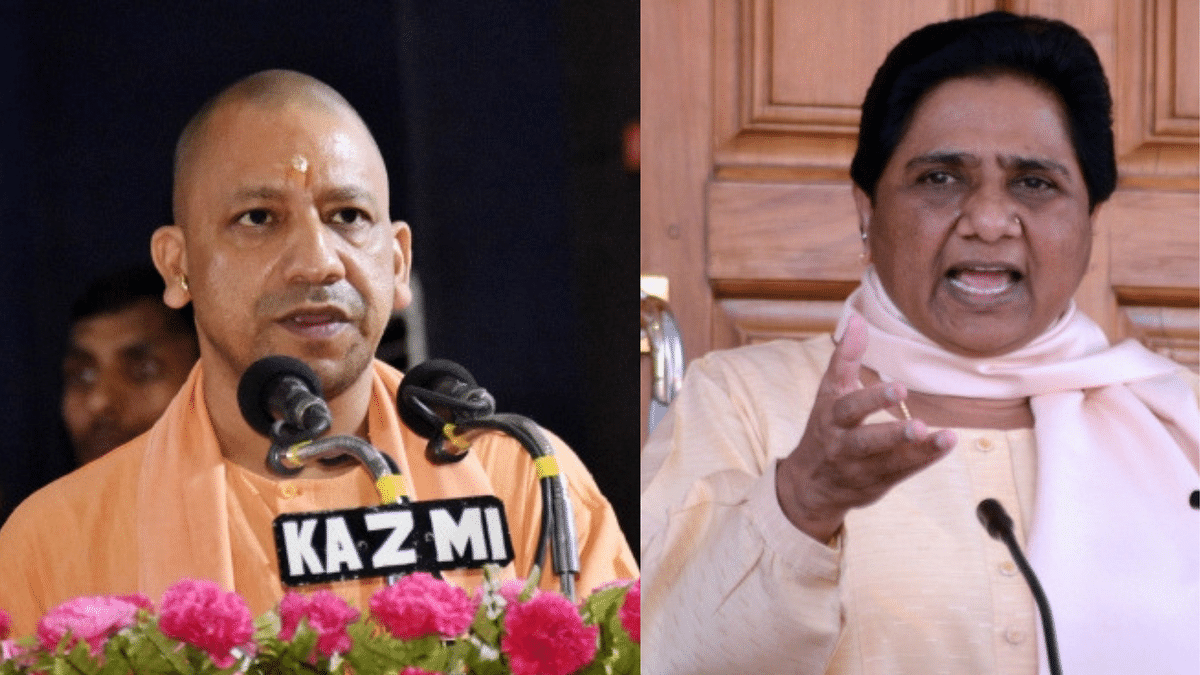UP CM Yogi Adityanath and Bahujan Samaj Party president Mayawati.
