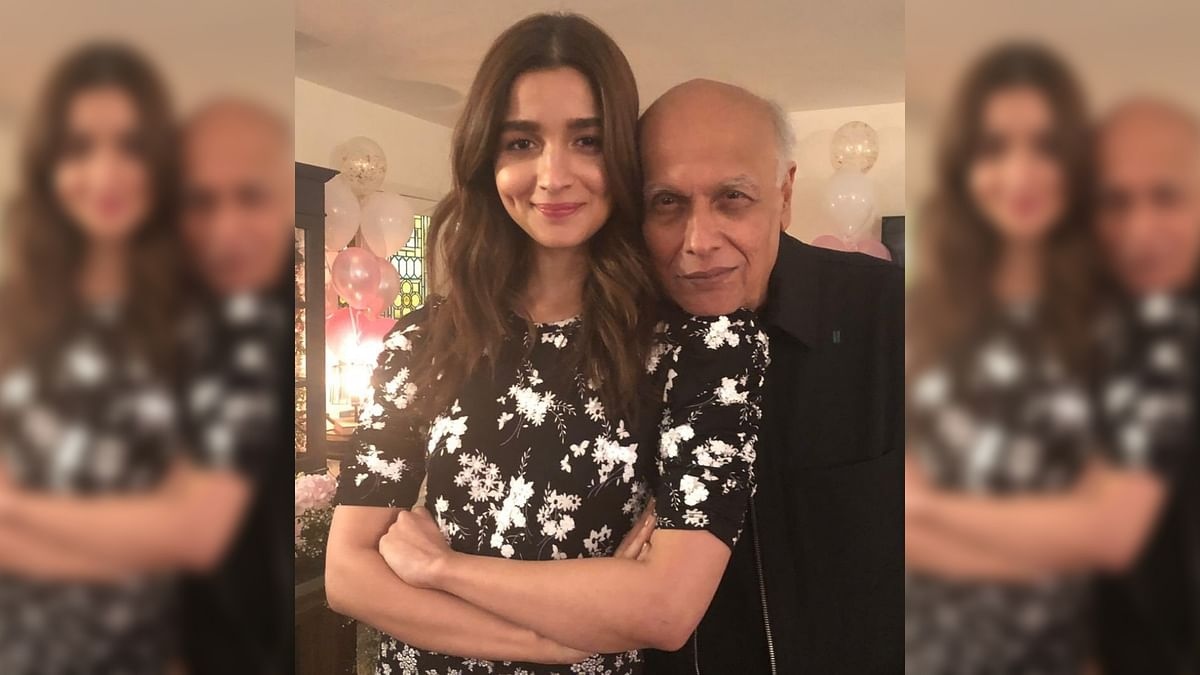 Mahesh Bhatt Shares Adorable Throwback Video on Alia's B'day