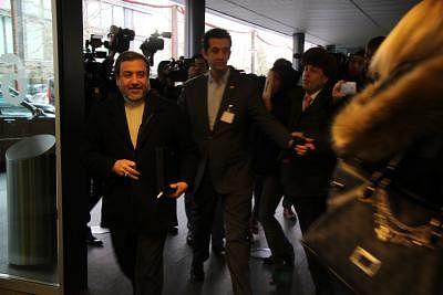 Iranian Deputy Foreign Minister Abbas Araqchi (L). (Xinhua/Zhang Miao/IANS)