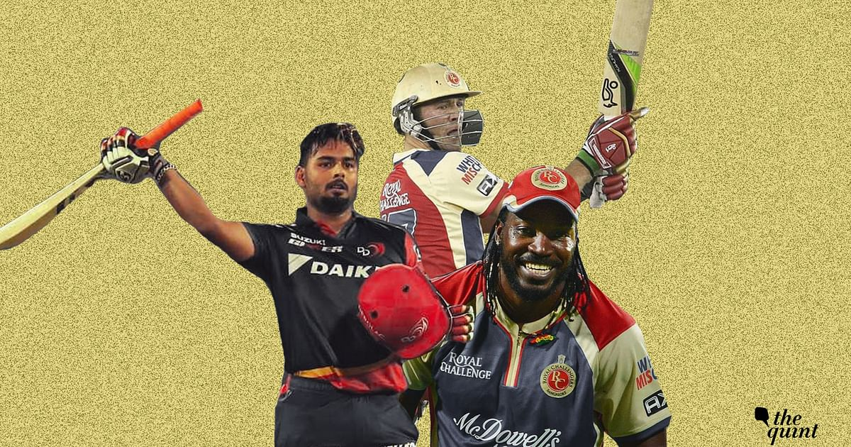 Gayle's 175, McCullum's 158: The 10 Highest Scores in IPL History