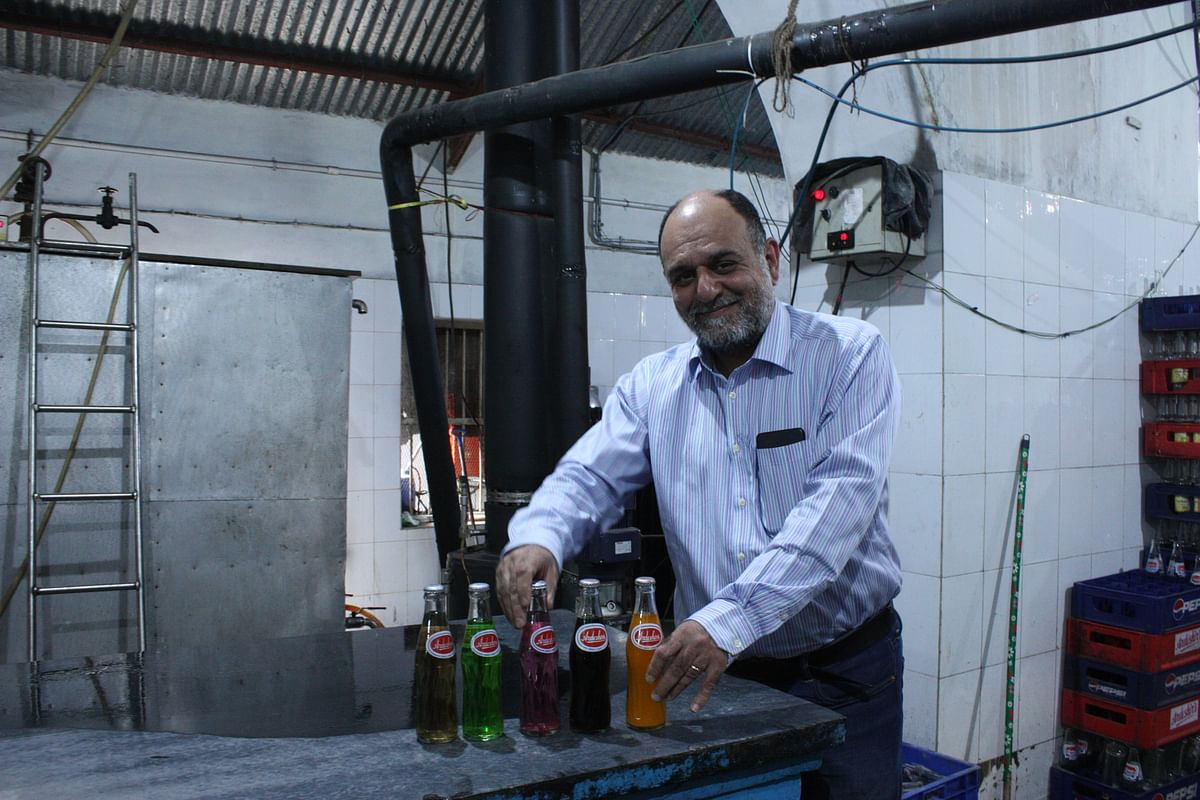Marzban Irani, 48, is the fourth generation to run the business.