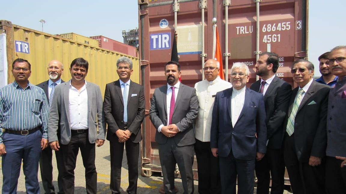 India Gets 1st Shipment From Afghanistan Via Chabahar Under TIR