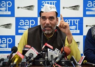 AAP leader Gopal Rai. (Photo: IANS)