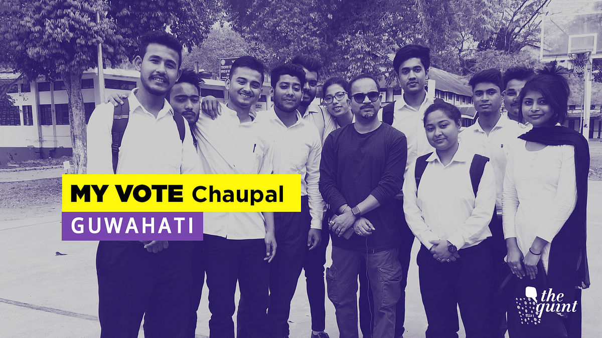 Election  Chaupal: Students of Assam Say No to Communal Politics