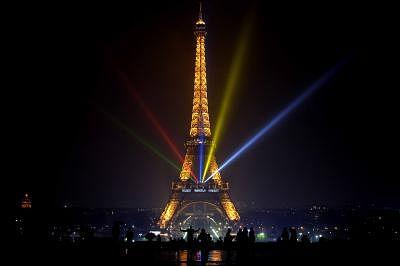Eiffel Tower. (Xinhua/Chen Xiaowei)