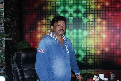 Mumbai: Film director Ram Gopal Varma during the Launch Of Web Series Guns and Thighs in Mumbai, on May 26, 2017. (Photo: IANS)