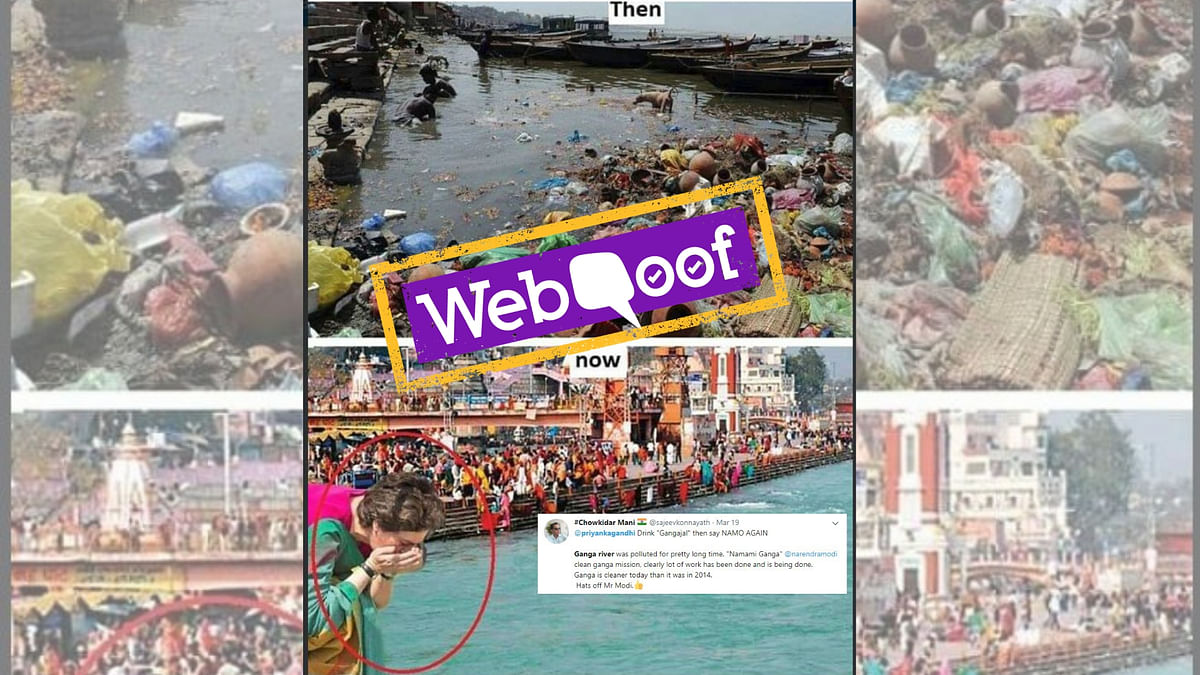 That Photo of Clean Ganga Isn't Just Doctored, It's From 2012!