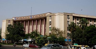 Life Insurance Corporation of India building, New Delhi. (File Photo: IANS)